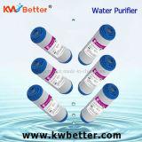 Cartucho do purificador da água de GAC com o filtro em caixa plissado de água