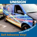 Vinilo auto-adhesivo para la carrocería de coche que hace publicidad (parte posterior del gris)