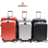 熱い販売法8の車輪アルミニウムフレームのパソコンの堅い側面のスーツケース