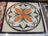 Tuile en céramique de tapis d'artiste Polished d'or