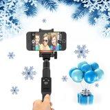 Bluetooth取り外し可能な遠隔Selfieの棒とのハイエンドポケット・サイズ