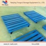 Euro Standard Pallet de acero para almacenamiento Almacén