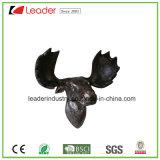 Polystone 양 가정 훈장을%s 두개골에 의하여 거치되는 동물성 맨 위 조각품 벽 트로피