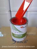 La pintura roja del coche de Basecoat Clearcoat del uretano del galón del alimentador ayuna kit