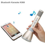 Altofalante sem fio de Bluetooth do karaoke do microfone K068 portátil para o iPhone Android
