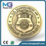 Medalha de chapeamento de bronze de Lecticular da antiguidade da liga do zinco