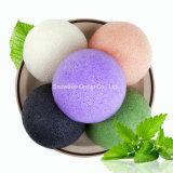 Hohe Gemüsenatürliche kosmetische Konjac Schwämme der kraut-Faser-100%