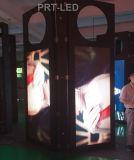 Signe extérieur de publicité polychrome personnalisé de P6 DEL avec le panneau ouvert d'avant