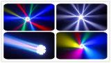 Facebookの生きている戯曲装飾の熱い効果のビデオが付いているビーム移動ヘッドライト