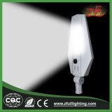 2 años de garantía toda en un alto lumen ligero solar 20W integraron todos en una luz de calle solar del LED LED al aire libre
