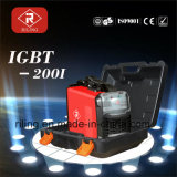 プラスチックケース(IGBT-160I/200I)が付いているMMA IGBTの溶接機
