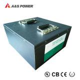 Bloco claro solar da bateria da bateria 12V 100ah LiFePO4 da bateria de lítio com caso