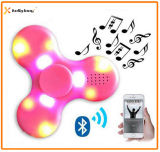 Nuevo hilandero sin hilos ligero de la persona agitada del altavoz de la mano LED Bluetooth del diseño