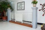 Balcón de acero galvanizado decorativo de alta calidad 13 que cercan con barandilla de la aleación de Haohan Alluminum
