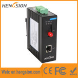 Controlado 1 Tx e 1 interruptor industrial portuário do Ethernet de Fx