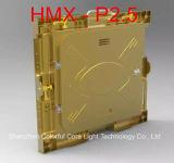 Gabinete de alumínio Rental interno do indicador de diodo emissor de luz do arrendamento P2.5