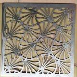 Panneau de revêtement en aluminium de mur perforé de coupure décorative de laser