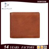 Портмоне руки Trifold бумажника Gnnuine людей большой емкости мягкое кожаный