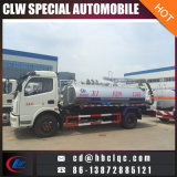 Dongfeng 5000L 부패시키는 차량 진공 하수 오물 흡입 트럭