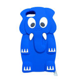 iPhone 7のための象デザイン柔らかいシリコーンの保護箱