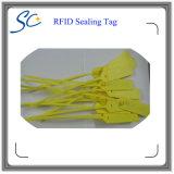 Tag plástico do selo de 830-960MHz RFID para a gestão de ativos