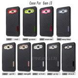 Kohlenstoff-Faser-Telefon-Kästen für Kasten der Samsung-Galaxie-J3