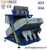 ISOのセリウムSGSエンジニアの海外サービス使用できるVseeカラー選別機