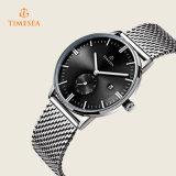 メンズ贅沢なステンレス鋼の網バンド腕時計72350