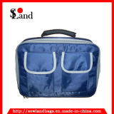 青いポリエステル医学の救急処置ボックス