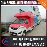 Chariot neuf de nourriture d'achats d'Outdoor Food Van Truck Mobile d'innovation de NC Chine pour le modèle de kiosque de machine de casse-croûte de puces d'Opcorn de crême glacée