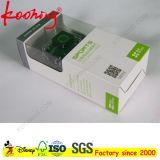 Cadre de papier d'impression de logo d'appareil-photo d'étiquette faite sur commande de coup avec le guichet/palourde de PVC