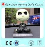Изготовленный на заказ Handmade череп смолаы Bobble головка для украшения автомобиля