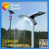15W energiesparender LED Bewegungs-Fühler-im Freiengarten-Solarstraßenlaterne