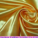 Garniture en gros de satin de polyester de sensation de la main 75D*100d molle