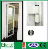 Schuifdeur van het Frame van het aluminium de Zwarte met Dubbel Aangemaakt Glas (PNOC224SLD)