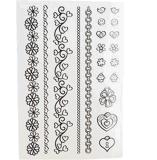 Solo tatuaje del arte de la etiqueta engomada del tatuaje de la transferencia del agua de las etiquetas engomadas del tatuaje del color