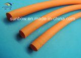 새로운 에너지 산업을%s 주황색 색깔 열 수축 관