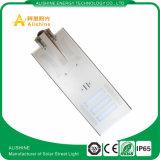 50W IP68は屋外の統合された太陽LEDの街灯を防水する