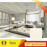 600x600mm Gran Hotel de diseño Piso Embaldosado Compuesto Suelos de Mármol (T6075)