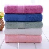 Хлопка мягкое Y/D нашивки ванны полотенца полотенце 100% пляжа
