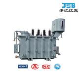 transport d'énergie du CEI 35kv/transformateur immergés dans l'huile normaux installation de distribution pour la sous-station avec le commutateur de taraud de réglementation de tension
