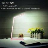 Lampe de table à LED pliable Rotation de 360 degrés Brochure de bricolage