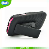 Shockproof Hybrid Armor Rubber Belt Clip Hard Stand Case Case para Alcatel Pixi 4 / 4034A
