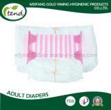 Do Manufactory adulto do fornecedor do sumário do tecido do OEM fralda elevada da venda por atacado da qualidade da absorção
