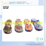Pantoufles à bascule à imprimé coloré personnalisé