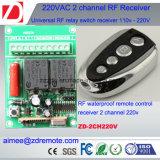 Receptor e Transmissor de RF de 2 canais 300V 433MHz