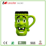 Lustige Grimassen-keramisches Cup für Halloween-Geschenk und Dekor