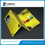 Brochure de Tri-Dépliant de quatre couleurs avec le laminage