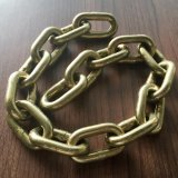 オーストラリアの標準G70黄色い亜鉛めっきの鎖