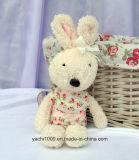 Заполненная игрушка плюша кролика с Bowknot
